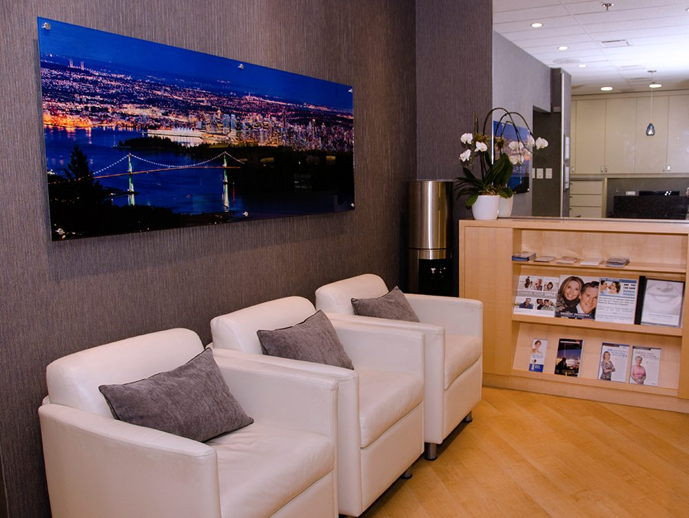 Our Office Waiting Room in Bentall Tower 1