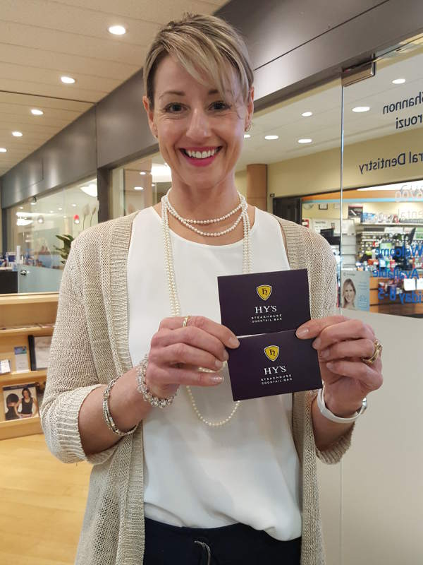 Trish the winner of the monthly referral reward contest